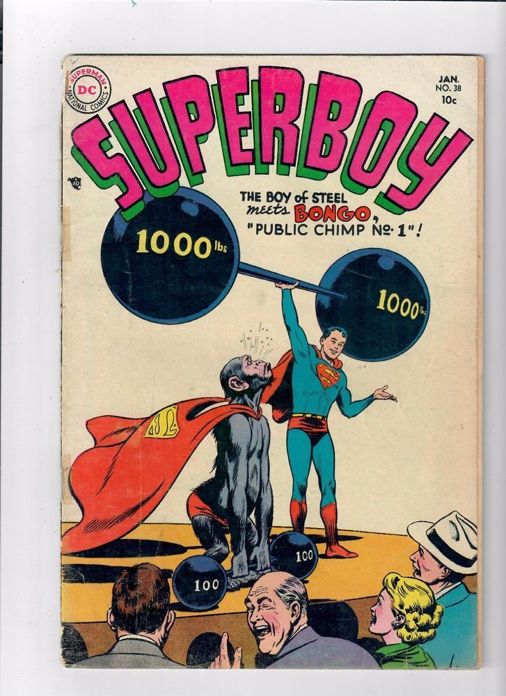 Details About Superboy 38 Fantastic Gold Age Find Presented By Dc