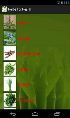Herbs For Health 스크린샷 2