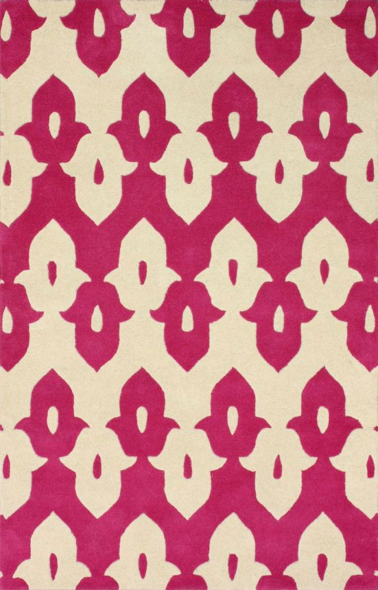 Love this color and pattern!! Tuscan Palace Ikat Trellis Pink Rug ...