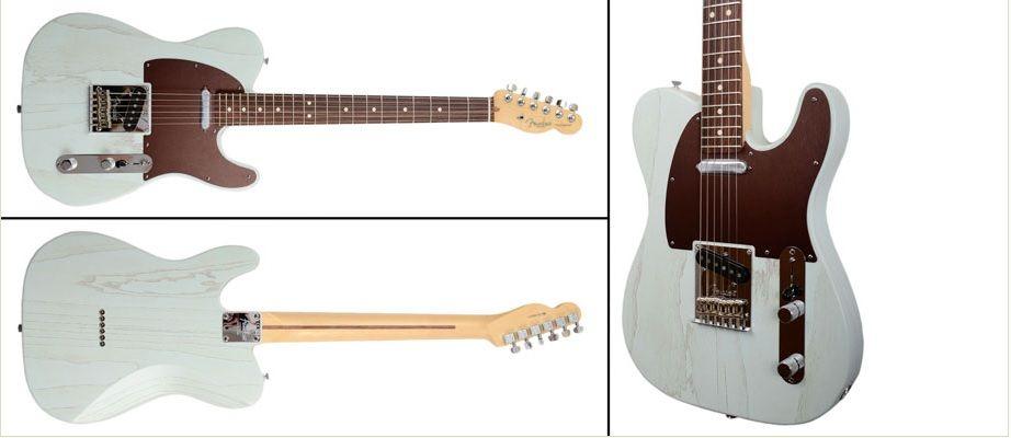 Fender FSR American Rustic Ash Tele Sonic Blue Fender