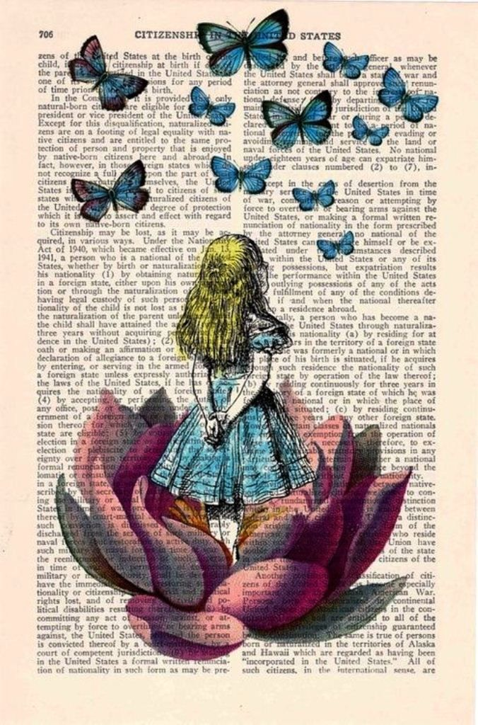 """""""And what is the use of a book,"""" thought Alice, """"without pictures or conversation?"""" ― Lewis Carroll, Alice's Adventures in Wonderland"""