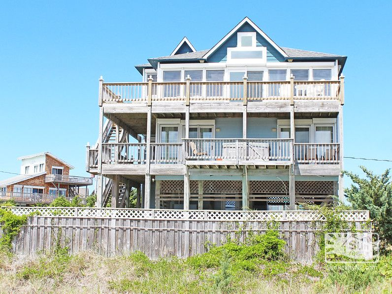 Sea Cure A-006 Rear Exterior | Summer OBX vacation ideas | Pinterest ...