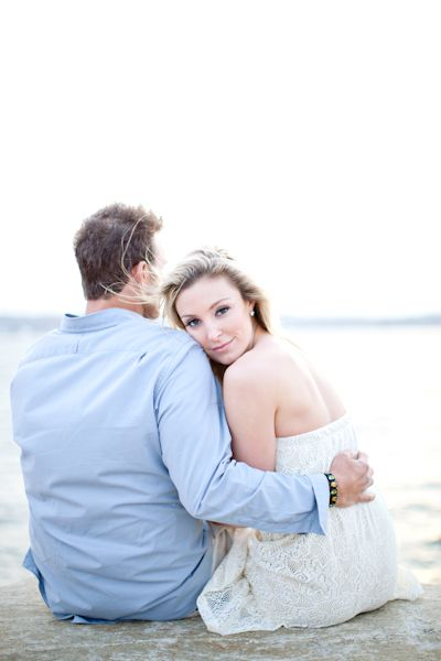 Beach Engagement Session By Kelly Dillon Photography