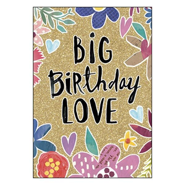 Birthday Card Big Birthday Love The One And Only You Cards