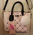 ♥ø #Luv #Betsey JOHNSON pink ivory crossbody  messenger  Satchel  handBag p... Exclusive http://j.mp/2sWN8yC