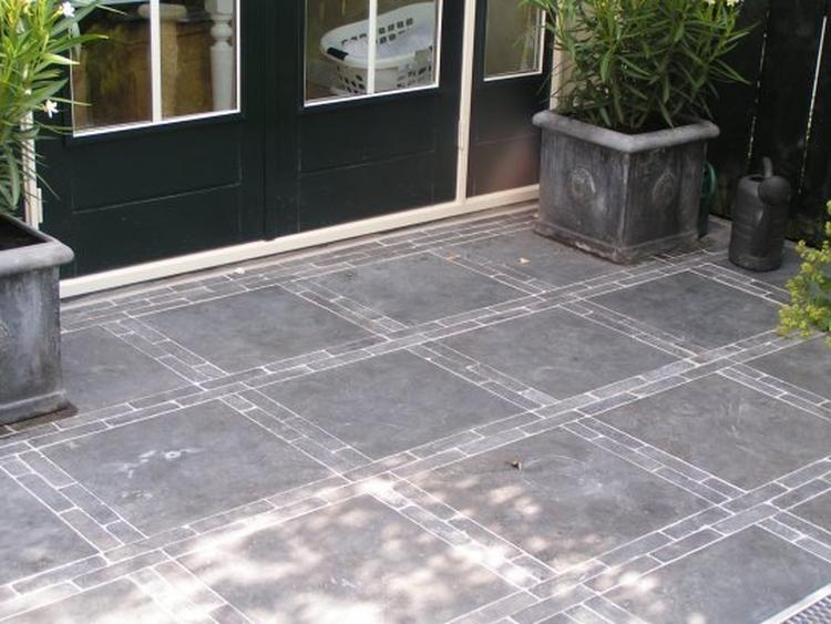 Patroon Tegels Tuin.Foto Leuk Patroon Voor Op Het Terras Geplaatst Door Ict Op