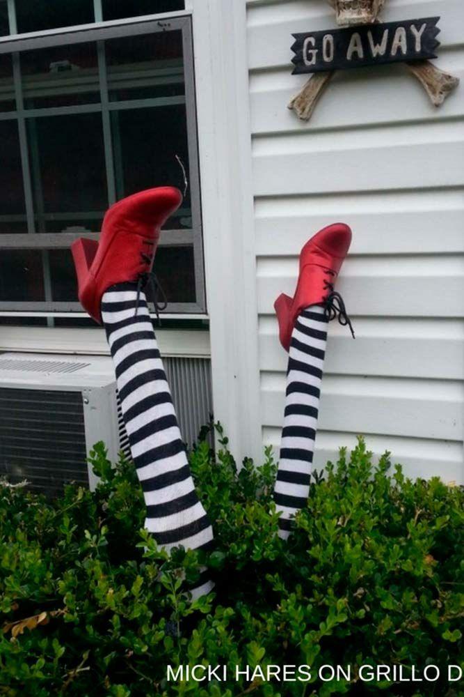 18 Ideas of DIY Halloween Decorations Pinterest Outdoor
