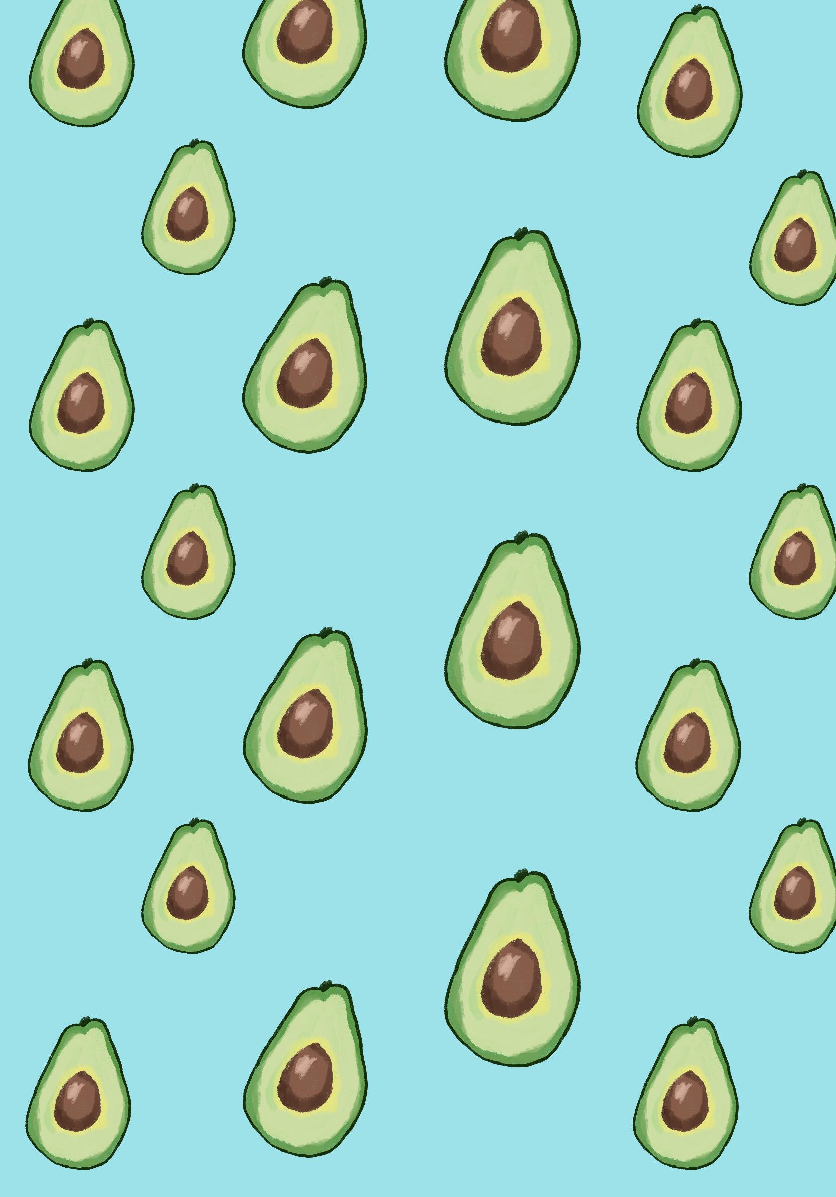 Avocado Wallpaper Ipad Pro Wallpaper Ipad Background Cute Wallpapers