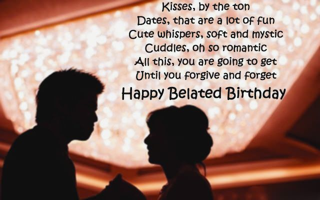 Birthday Wishes Romantic Him ~ Sweet belated birthday wishes birthday quotes