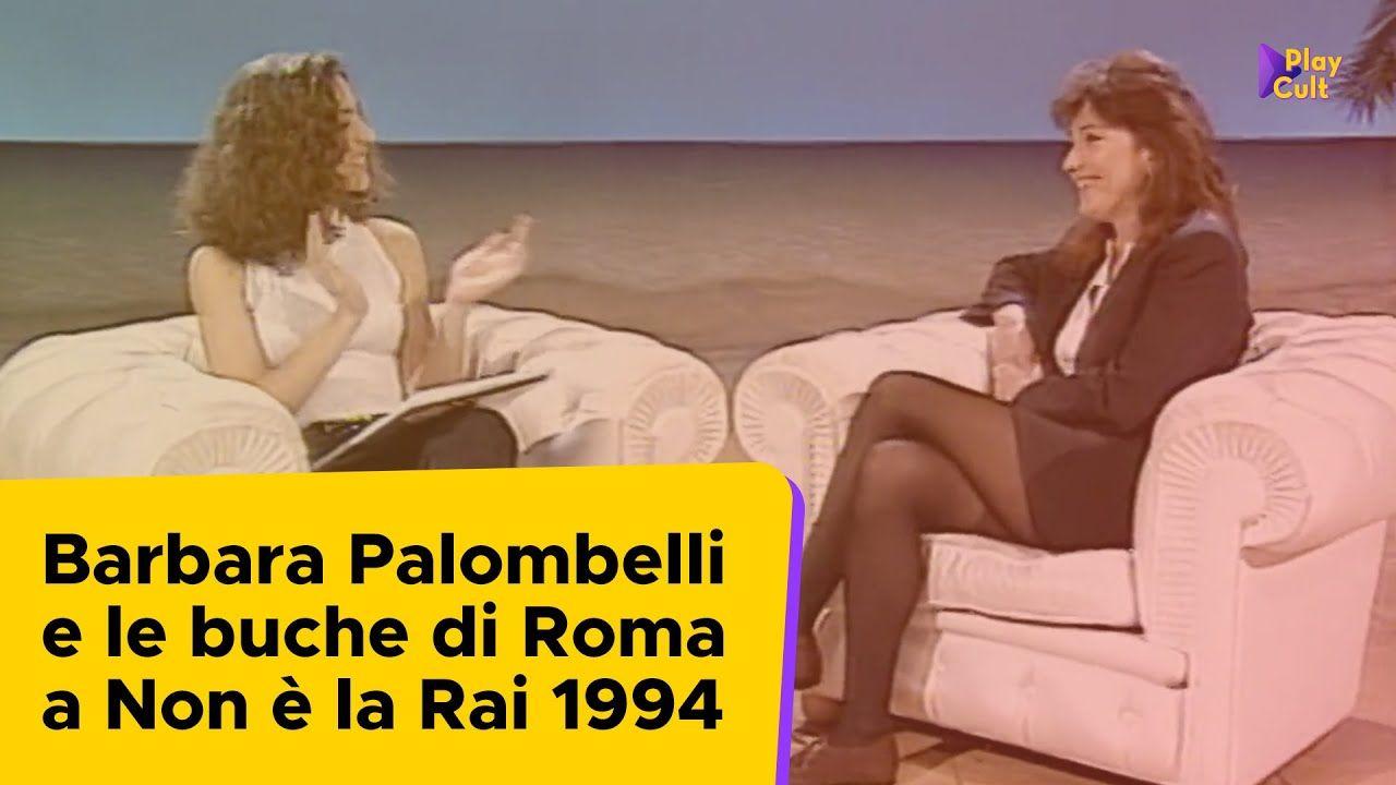 Barbara Palombelli E Le Buche Di Roma A Non E La Rai