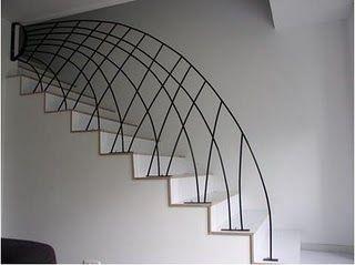Ideas para decorar barandillas de hierro forjado para tus for Escaleras hierro forjado