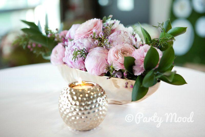Flower Vase Decor Rental Weddings Always More Partymood