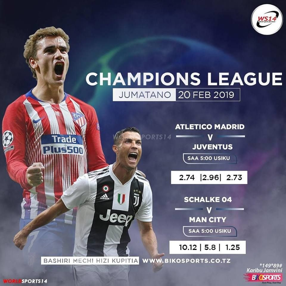 The European night goes on for two matches. Wahi to list