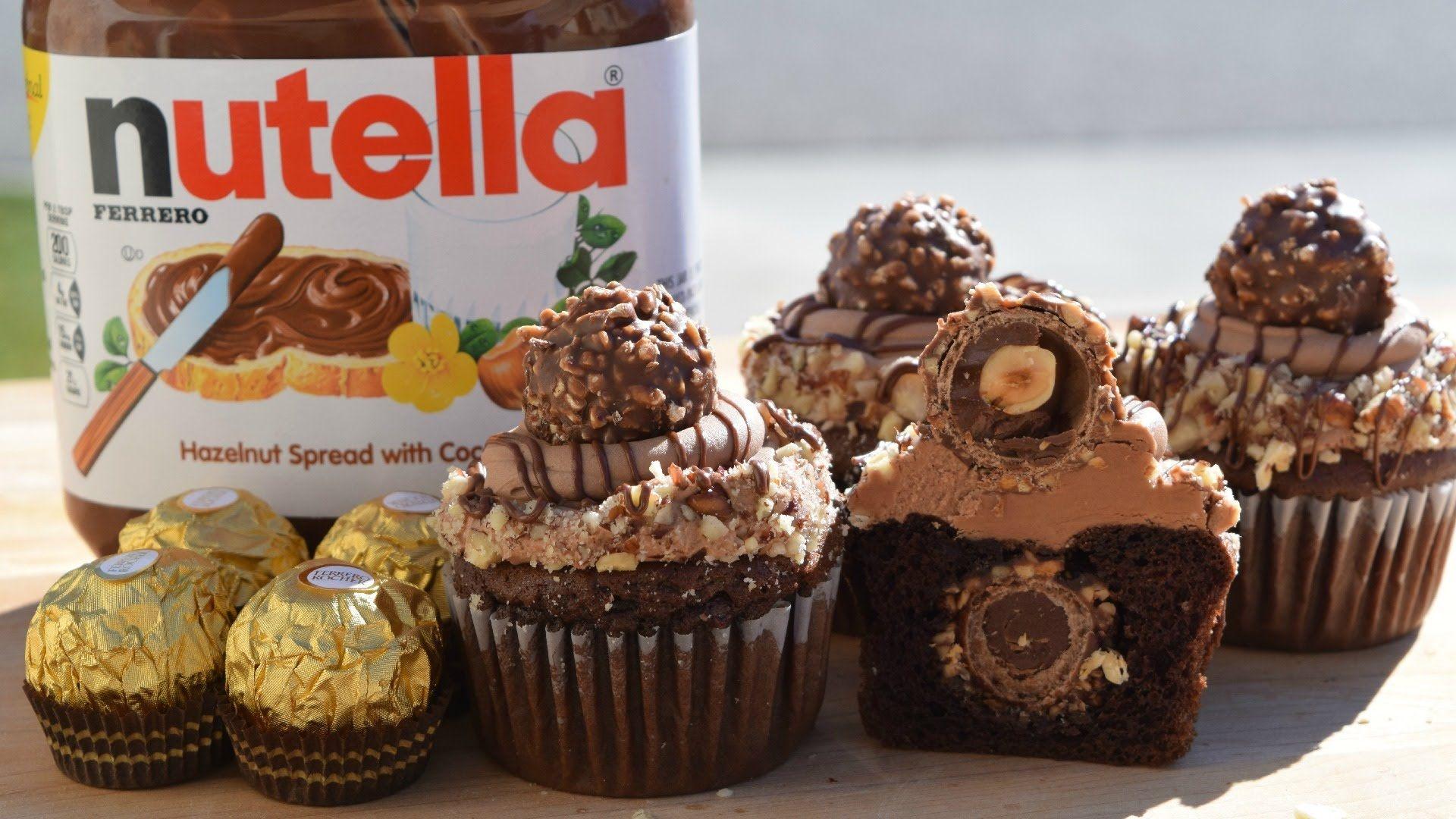 e83432bf5184f How to Make Ferrero Rocher Cupcakes - YouTube