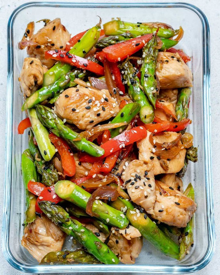 Super-Easy Turkey Stir-Fry for Clean Eating Meal Prep #healthyfoodprep