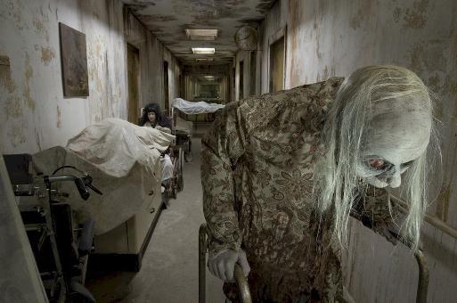 Asylum. creepy.