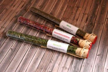 Onlineshop Kräuter-Manufaktur - Karin Bleil - 3er-Set Kräuter & Blüten im Reagenzglas