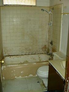 How to Paint Over Glazed Backsplash Tiles Bath tiles Painted