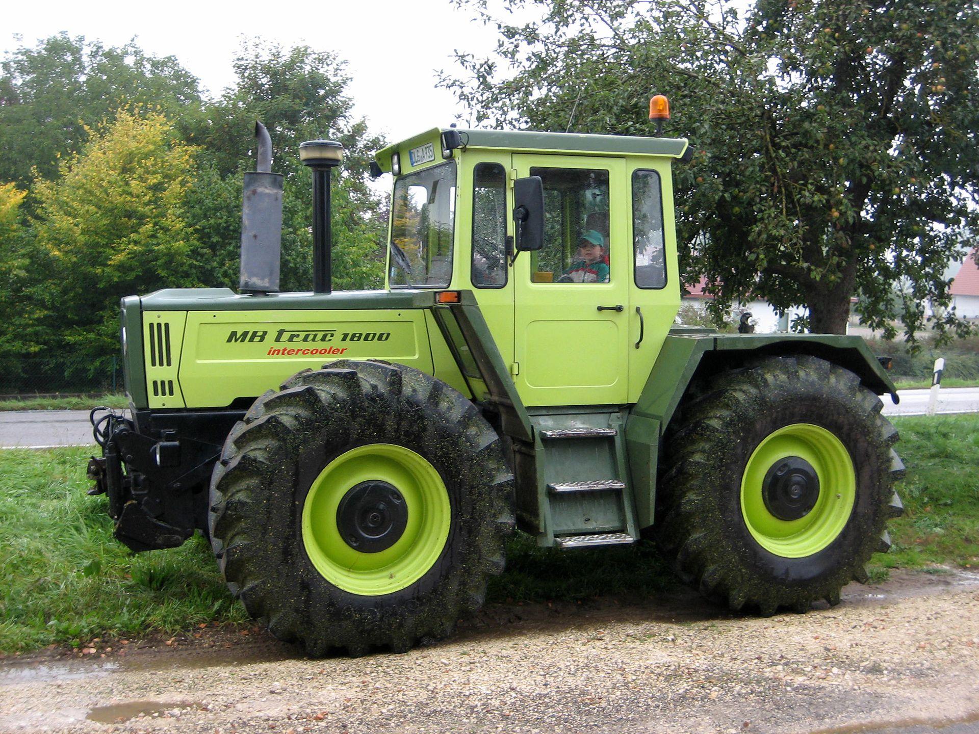 Mercedes benz mb trac 1800 tractor mania pinterest for Mercedes benz tractors