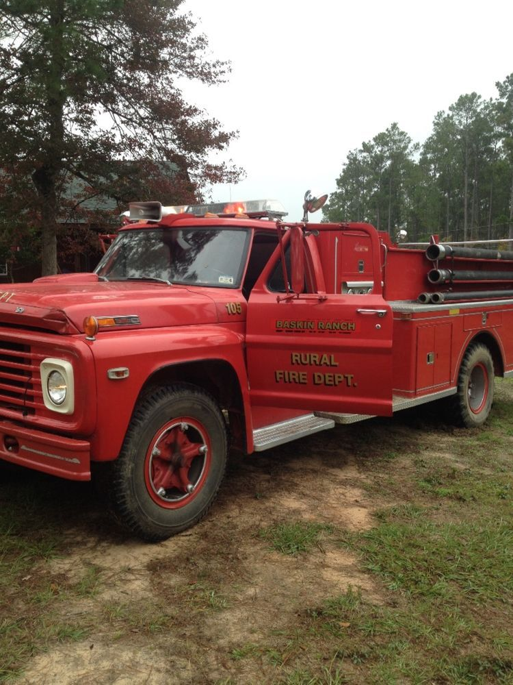 1968 Ford F 700 Fire Trucks Emergency Fire Trucks