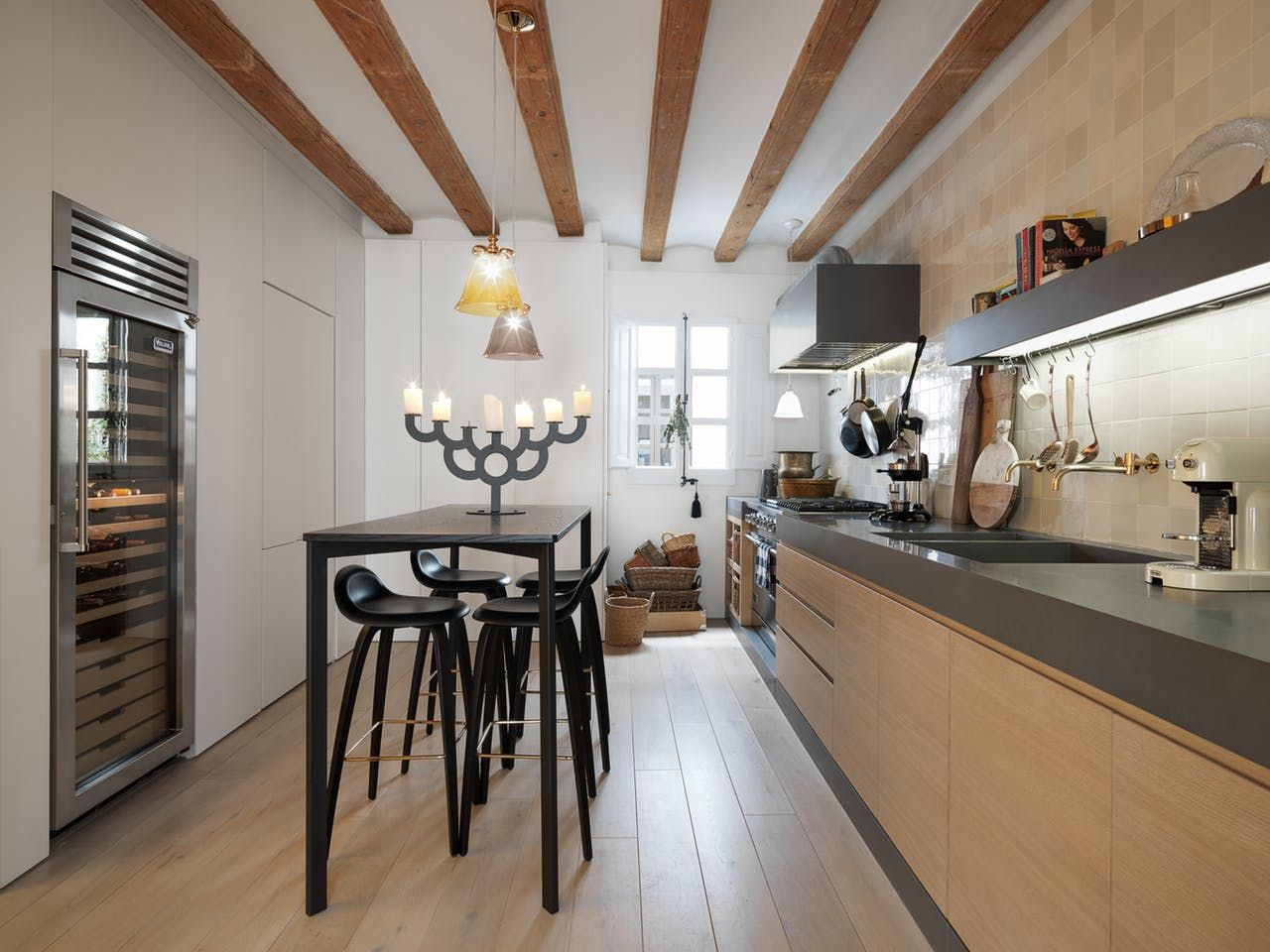 The barcelona home of minotti london s creative director natural