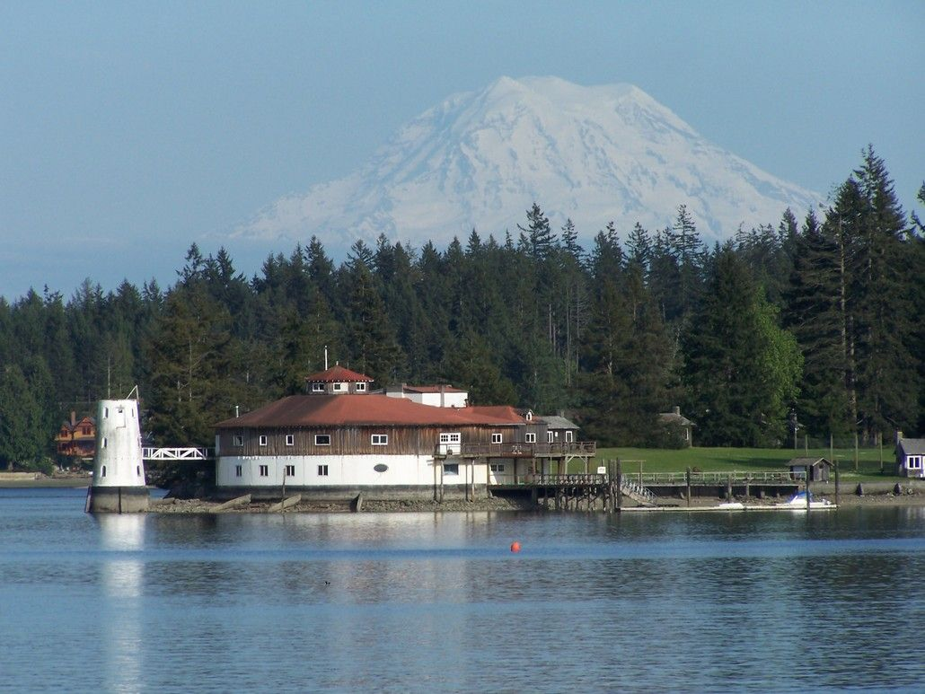 Fox Island, Washington...we can see this building from our ...