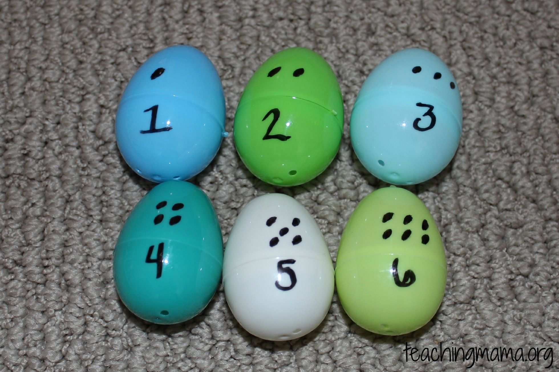Math Activity With Eggs Amp Jelly Beans