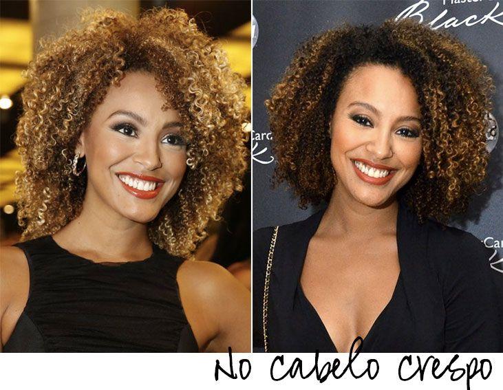 Ombre Hair 10 Sugestoes Para Inspirar Cabelo Cabelo Crespo Com