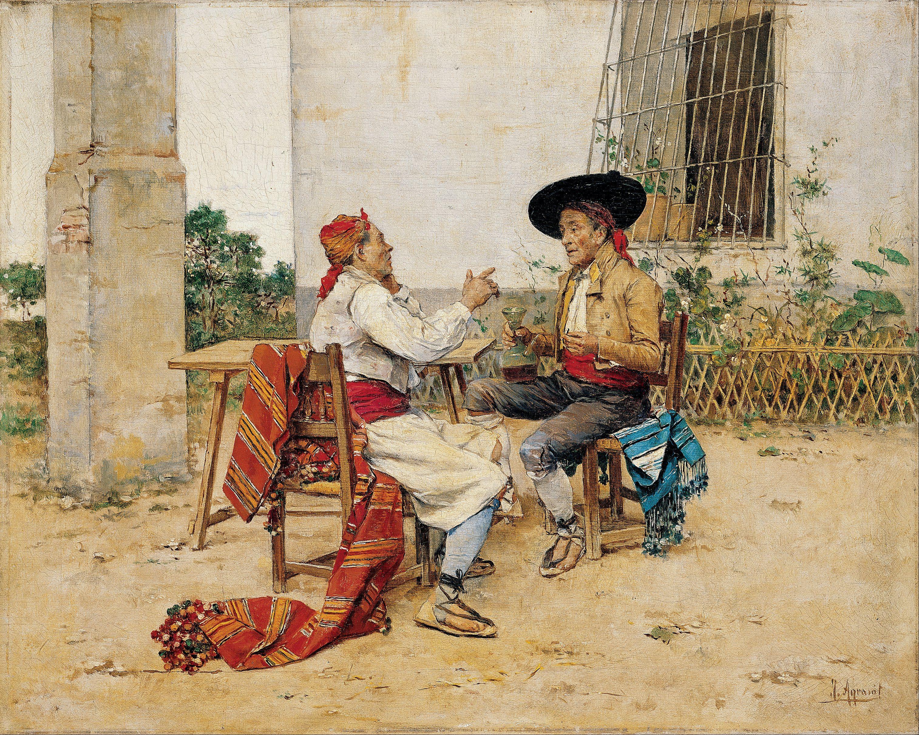 Joaquín Agrasot Juan (Orihuela, 24 de diciembre de 1836 - Valencia, 8 de enero de 1919) fue un pintor español, encuadrado en el género realista y costumbrista.