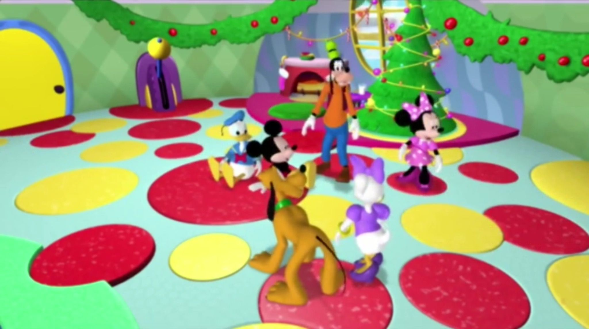 Mickey Mouse Clubhouse - Mickey Saves Santa (Minnie Mouse ...