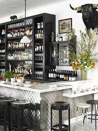 Back Bar Cabinet Marlow Ken Fulk Design Modern Home Bar Back