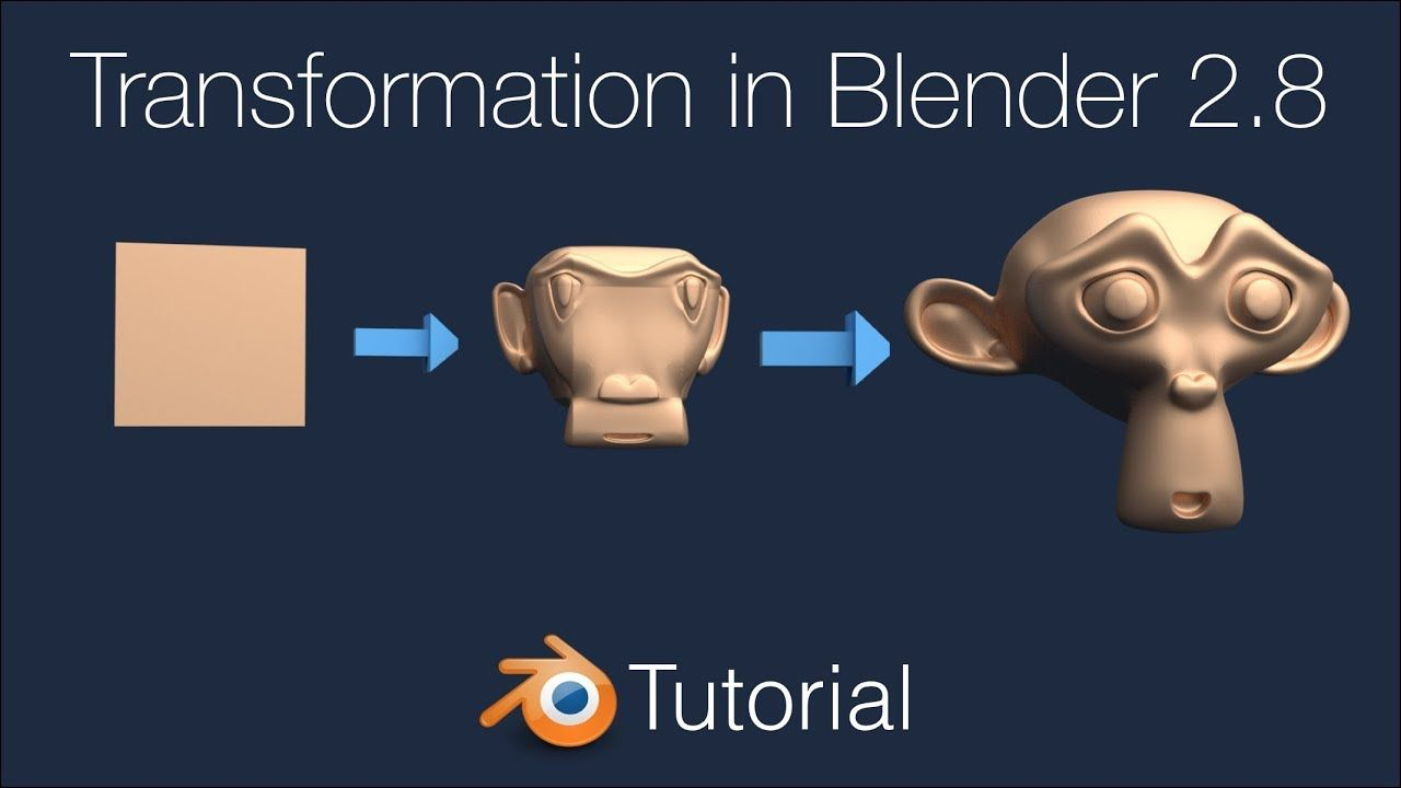Blender 2.8 Transformation Animation