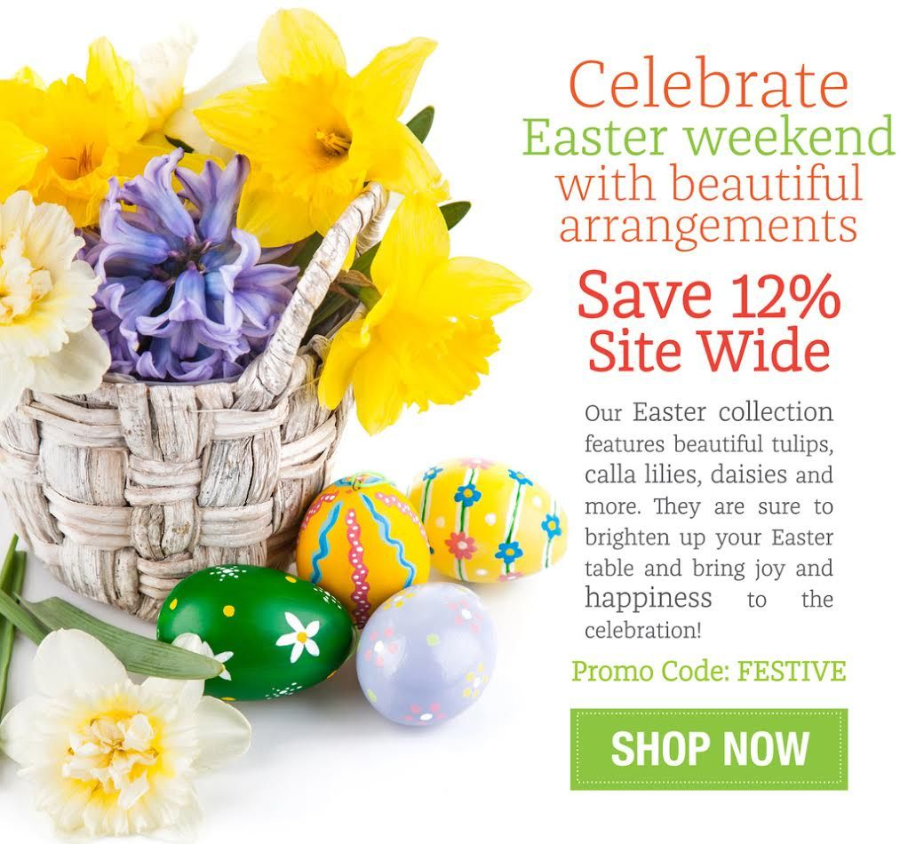 How egg citing save 12 site wide on flowers and gifts flowers canada negle Gallery