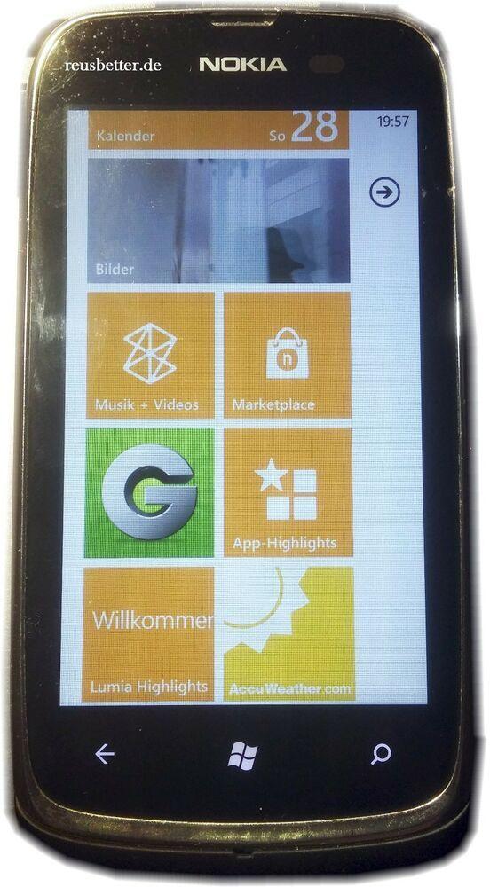 Nokia Lumia 610 Smartphone 3.7 Zoll Touchscreen 5 MP