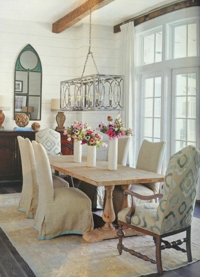 wohnideen esszimmer landhausstil schöne muster und stilvoller - esszimmer landhausstil