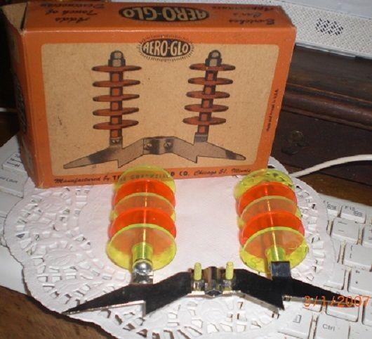 Vintage Car Antenna Space Age Aero Glo Decoration Like Jetsons