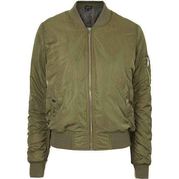 Mens New Winter MA1 Bomber Flight Jacket Coat Padded Biker Vintage Lightweight