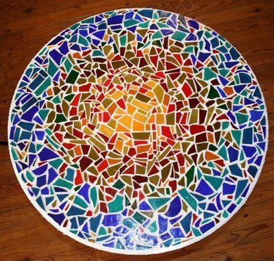 8 Steps to Making a Mosaic Tabletop « Denver Tile Installation – Denver Tile Contractor