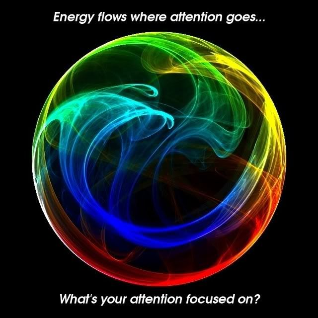 Energy flows where attentions goes...