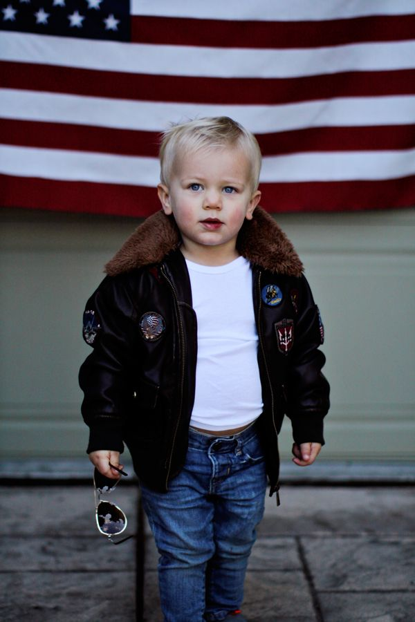 Toddler Top Gun Bomber Jacket Oh Baby In 2018 Pinterest