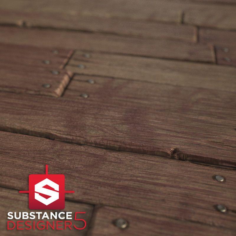 Wood Floor Substance Julie Martinez On Artstation At Httpswww