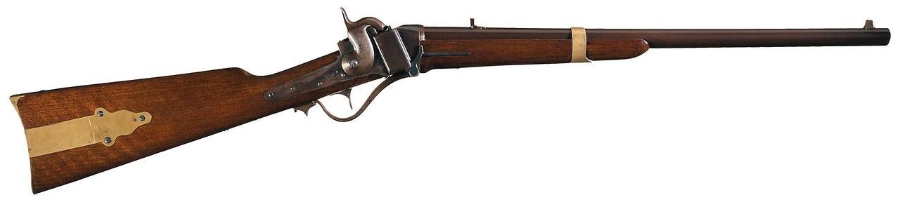 Sharps Model 1852 slant breech carbine.