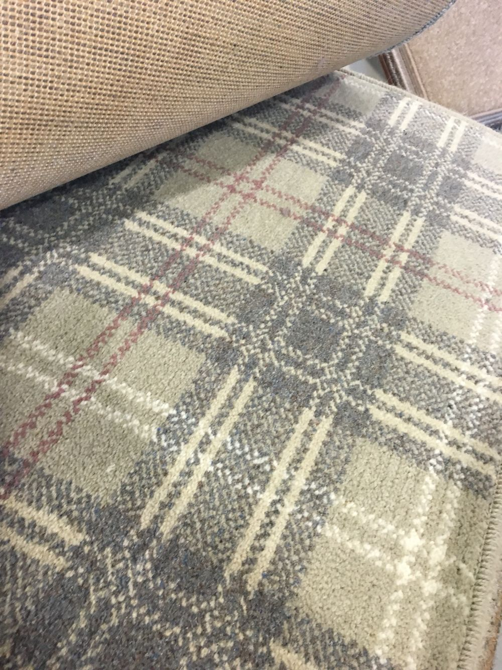 stunning tartan and plaid ulster carpets like this. Black Bedroom Furniture Sets. Home Design Ideas