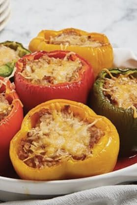 17 Things You Can (and Should) Stuff in a Pepper via @PureWow