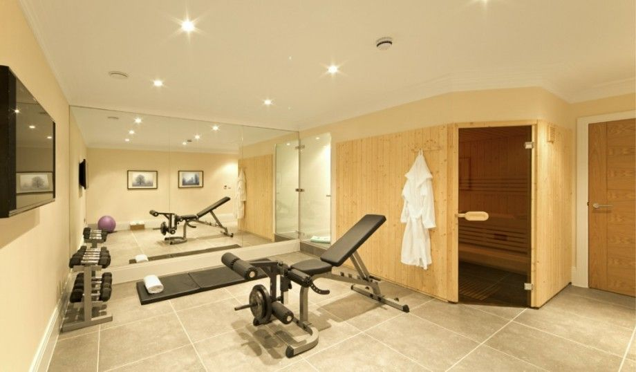 Home Gym Design Ideas Basement: Luxury Basement Gym Design Ideas