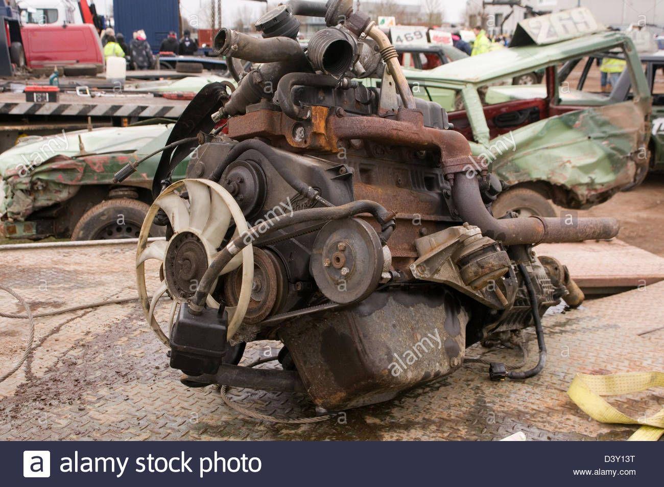 Scrap Engine Car Cars Engines Metal Old Junk Scrapyard Scrapyards Car Engine Car Car Scrap