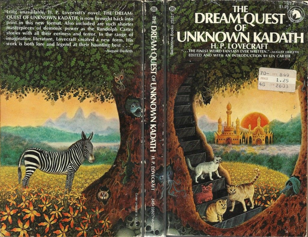13 Kadath Wrap Dream Quest Surreal Books Visionary Art