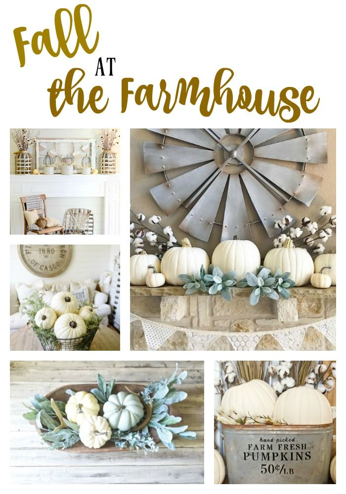 Fall and farmhouse goes hand in hand if you love farmhouse style and you need
