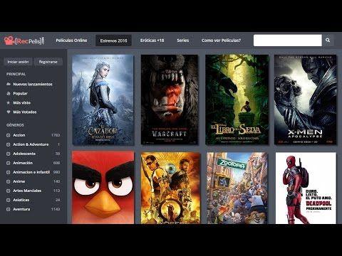 Las Mejores Páginas Para Ver Y Descargar Películas Gratis En Full Hd 2016 Actualizado Youtube Youtube Pandora Screenshot