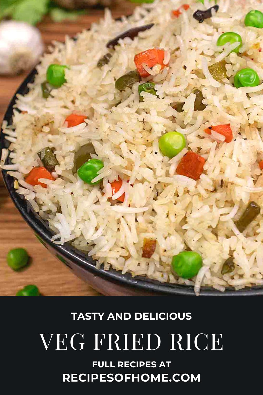 Veg Fried Rice Recipe How To Make Vegetable Fried Rice Recipe Recipe Vegetarian Rice Recipes Veg Fried Rice Recipe Fried Rice